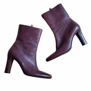 Bally Travia Leather Mid-Calf Boots